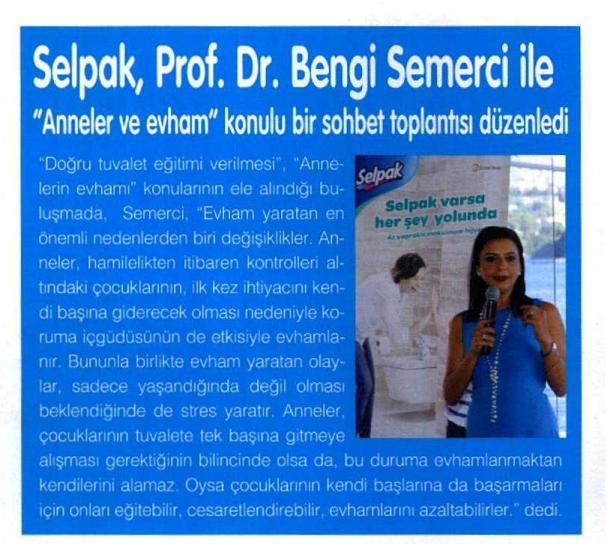 SELPAK, PROF. DR.BENGİ SEMERCİ İLE