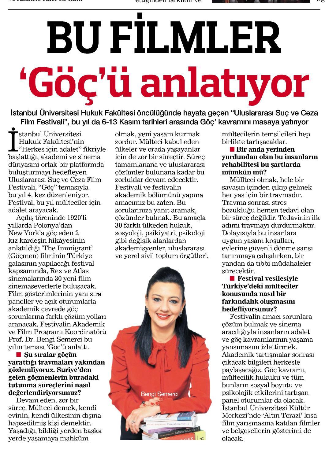 Bu filmler göçü anlatıyor - HABERTÜRK PAZAR 02.11.2014