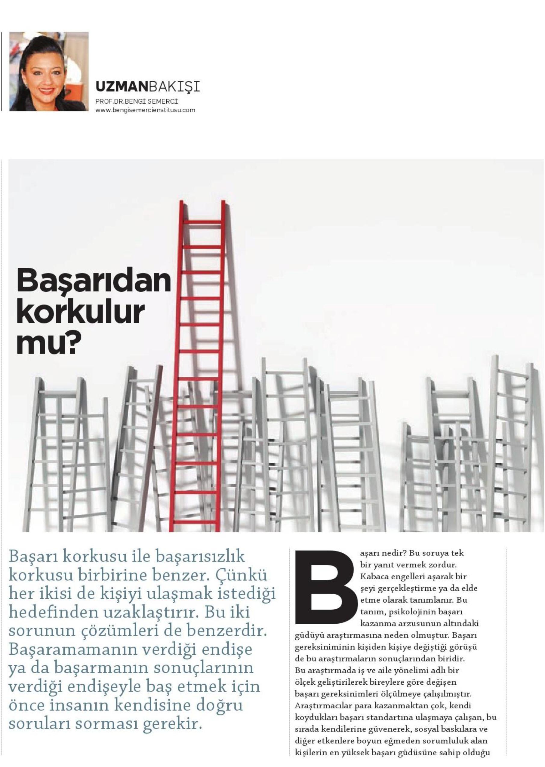 BAŞARIDAN KORKULUR MU - KARİYER 01.01.2014