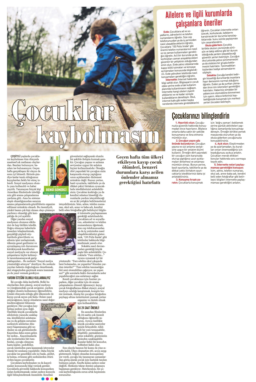 Çocuklar kaybolmasın - SABAH CUMARTESİ 12.04.2014