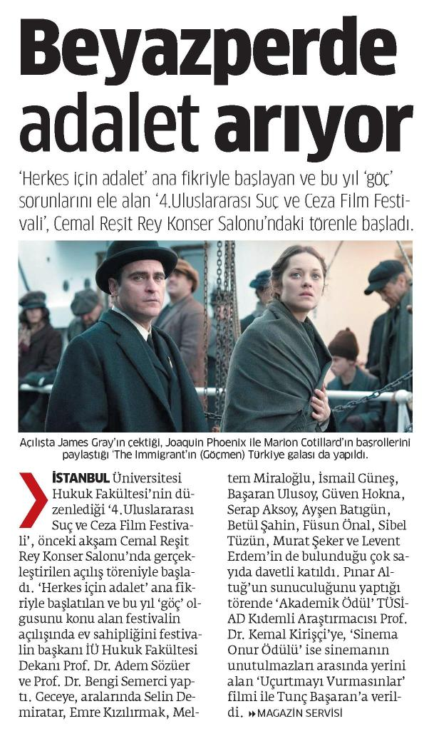 Beyazperde adalet arıyor - STAR 08.11.2014