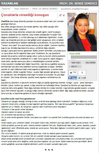 Çocuklarla cinselliği konuşun - 11.01.2014 SABAH.COM.TR